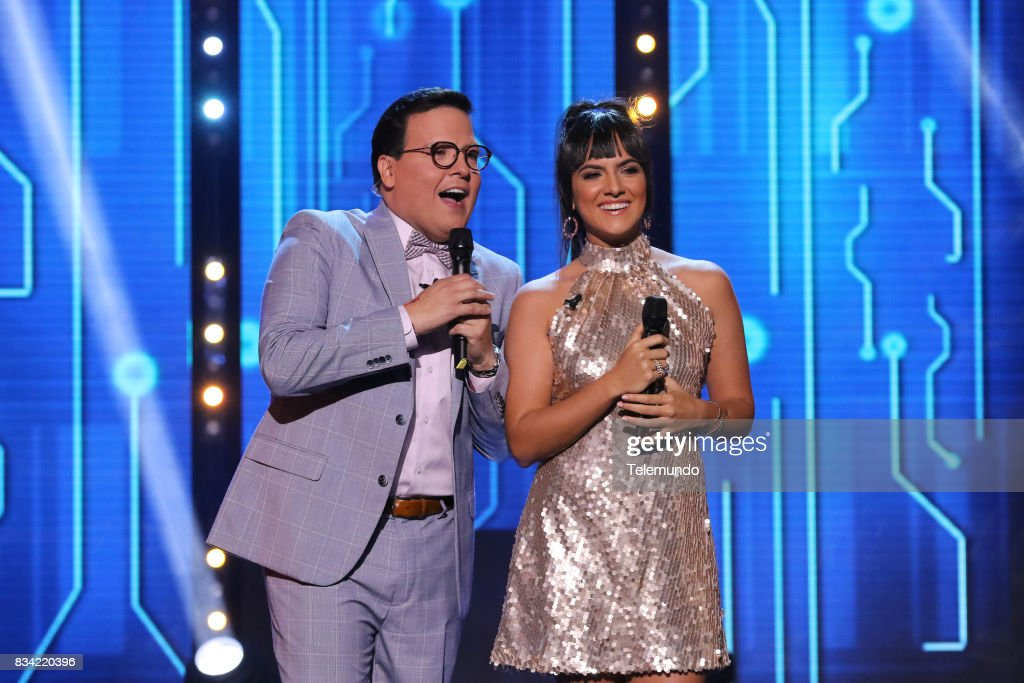 Host Raúl González, Co-Host Ana Lorena Sánchez --