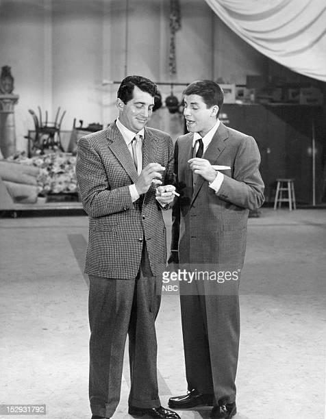 Hosts Dean Martin Jerry Lewis in 1954