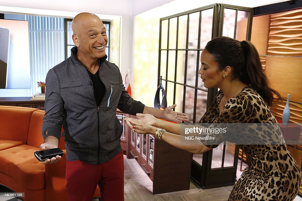 Howie Mandel and Paula Patton appear on NBC News' 'Today' show --