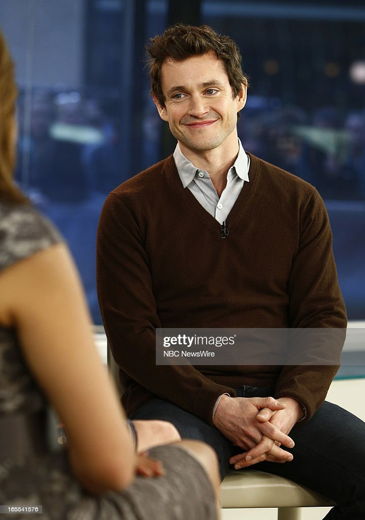 Hugh Dancy appears on NBC News' 'Today' show --