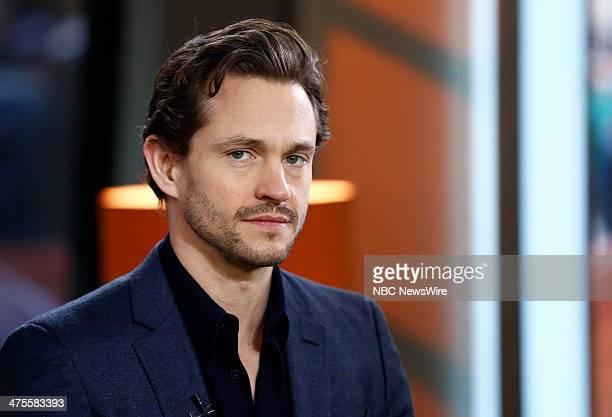 Hugh Dancy appears on NBC News' 'Today' show
