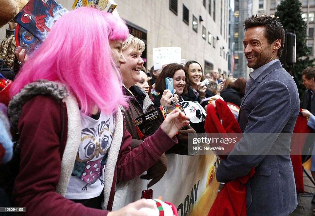 Hugh Jackman appears on NBC News' 'Today' show --