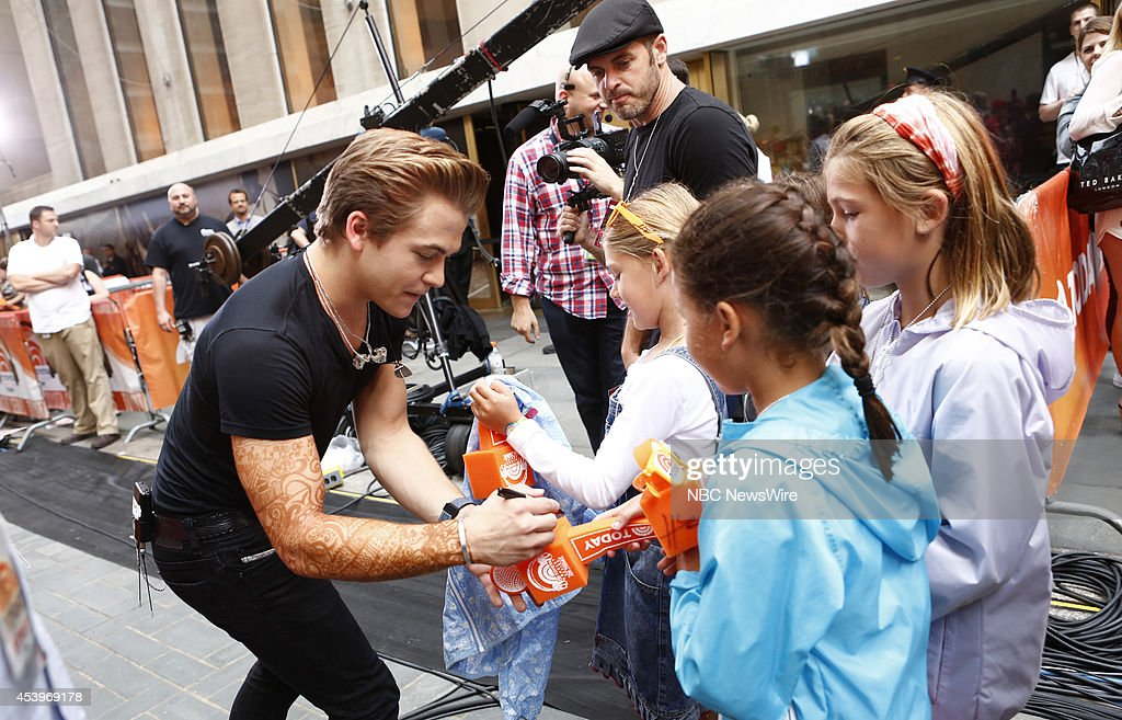 Hunter Hayes appears on NBC News' 'Today' show --