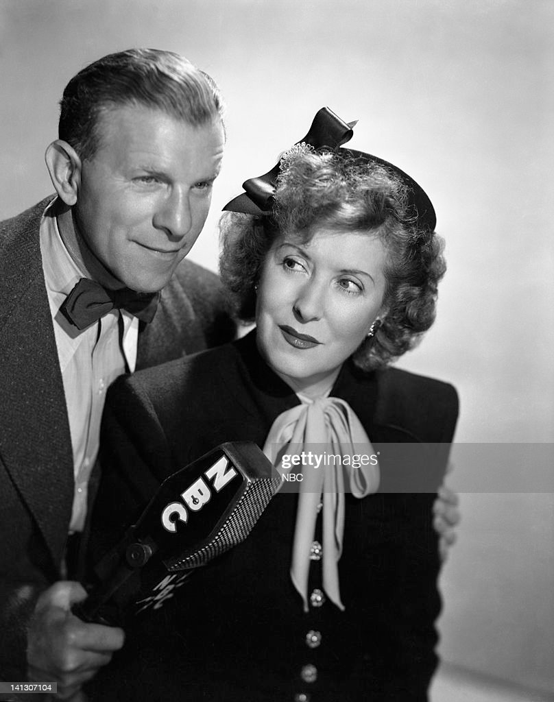 Husband and wife comedy duo George Burns Gracie Allen Photo by NBC/NBCU Photo Bank via Getty Images