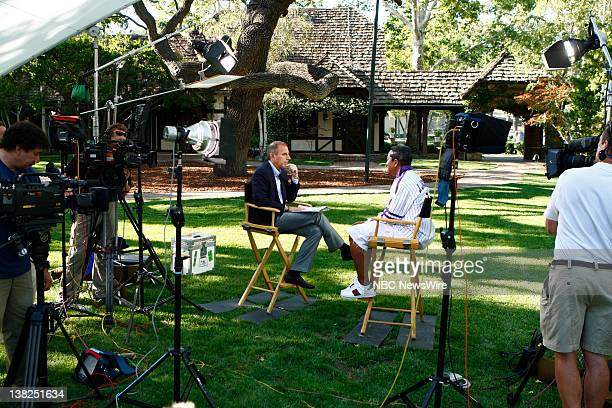 In a special edition of NBC News' 'Today' from Neverland Ranch Matt Lauer talks exclusively to Jermaine Jackson in his first interview since his...