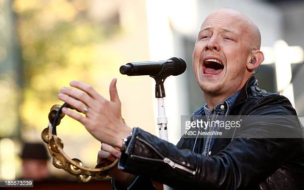 Isaac Slade of The Fray appears on NBC News' 'Today' show