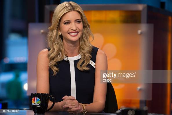 Ivanka Trump heiress former model and current EVP of Development Acquisitions at The Trump Organization in an interview on January 8 2015