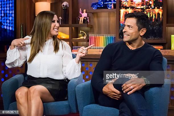 Jacqueline Laurita and Mark Consuelos