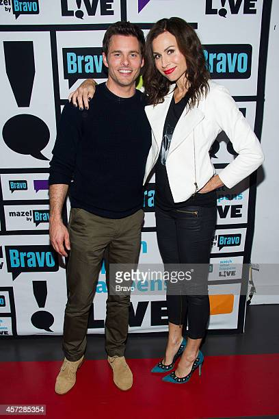 James Marsden and Minnie Driver
