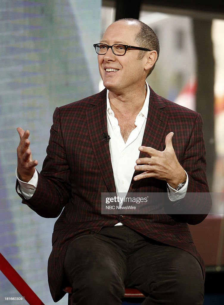 <a gi-track='captionPersonalityLinkClicked' href=/galleries/search?phrase=James+Spader&family=editorial&specificpeople=544640 ng-click='$event.stopPropagation()'>James Spader</a> appears on NBC News' 'Today' show --