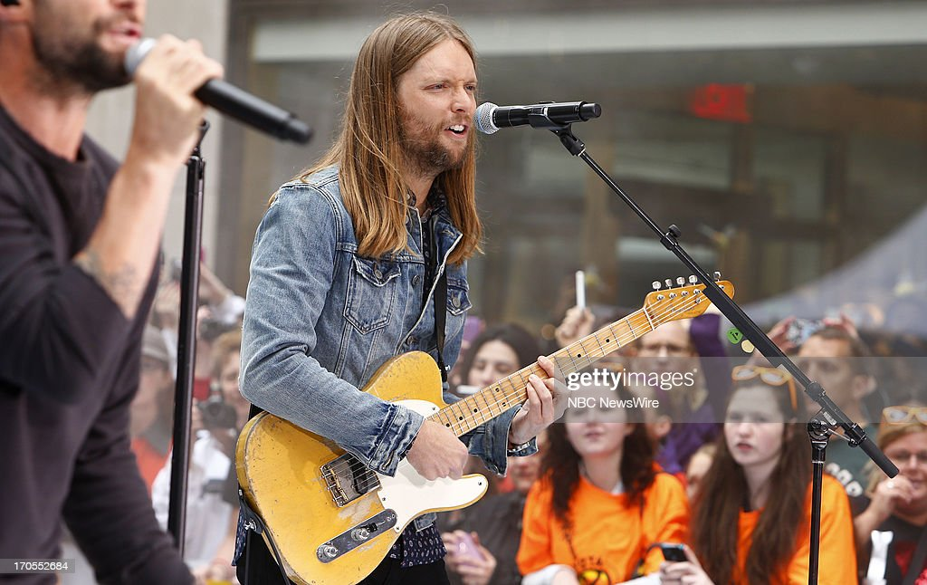 James Valentine of Maroon 5 appears on NBC News' 'Today' show --
