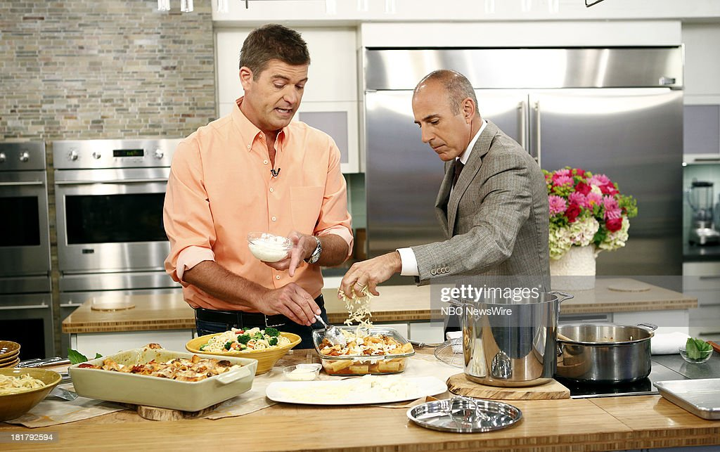 Jamie Deen and <a gi-track='captionPersonalityLinkClicked' href=/galleries/search?phrase=Matt+Lauer&family=editorial&specificpeople=206146 ng-click='$event.stopPropagation()'>Matt Lauer</a> appear on NBC News' 'Today' show --