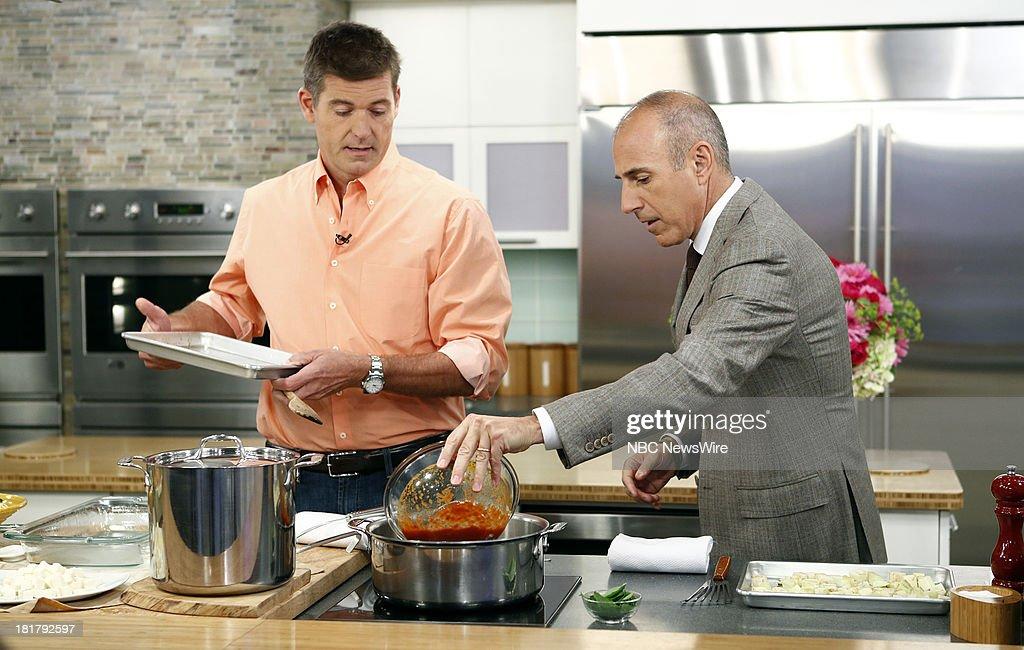 Jamie Deen and Matt Lauer appear on NBC News' 'Today' show --