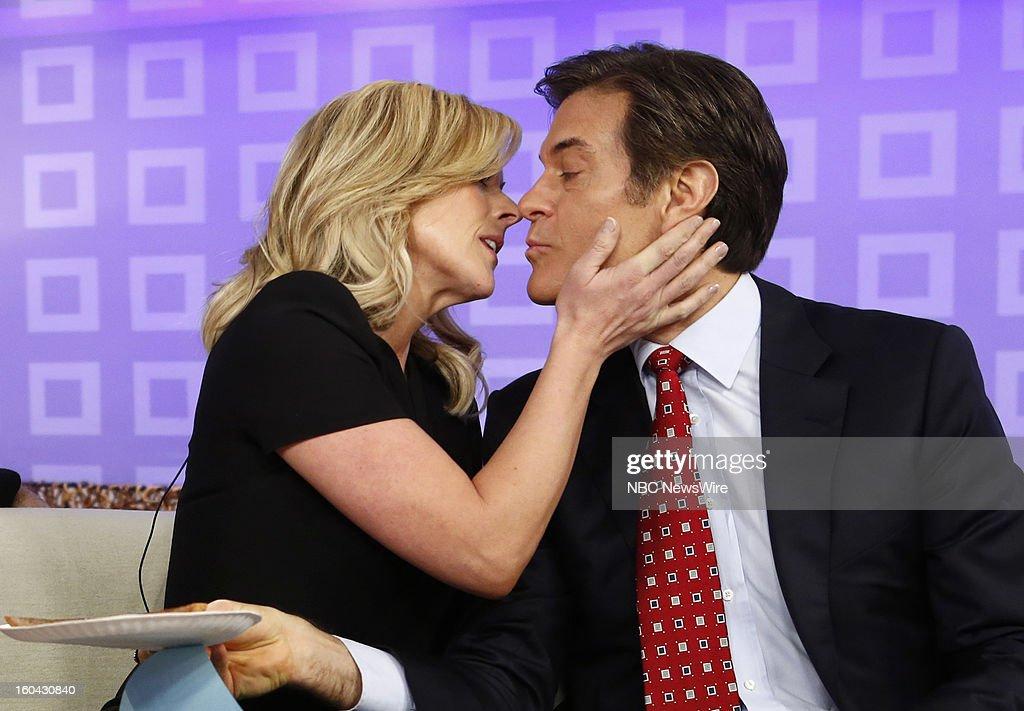 Jane Krakowski and Dr. Mehmet Oz appear on NBC News' 'Today' show --