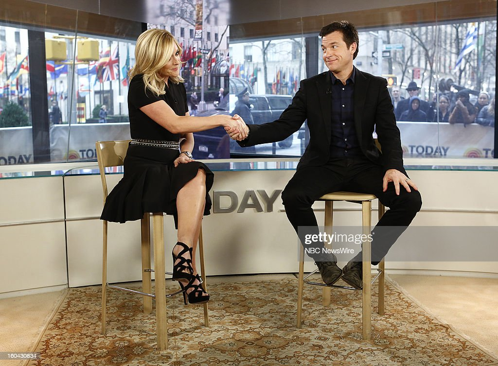 Jane Krakowski and Jason Bateman appear on NBC News' 'Today' show --