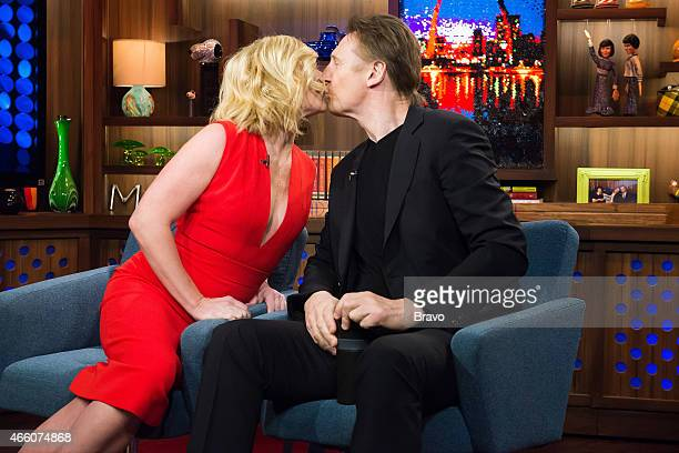Jane Krakowski and Liam Neeson