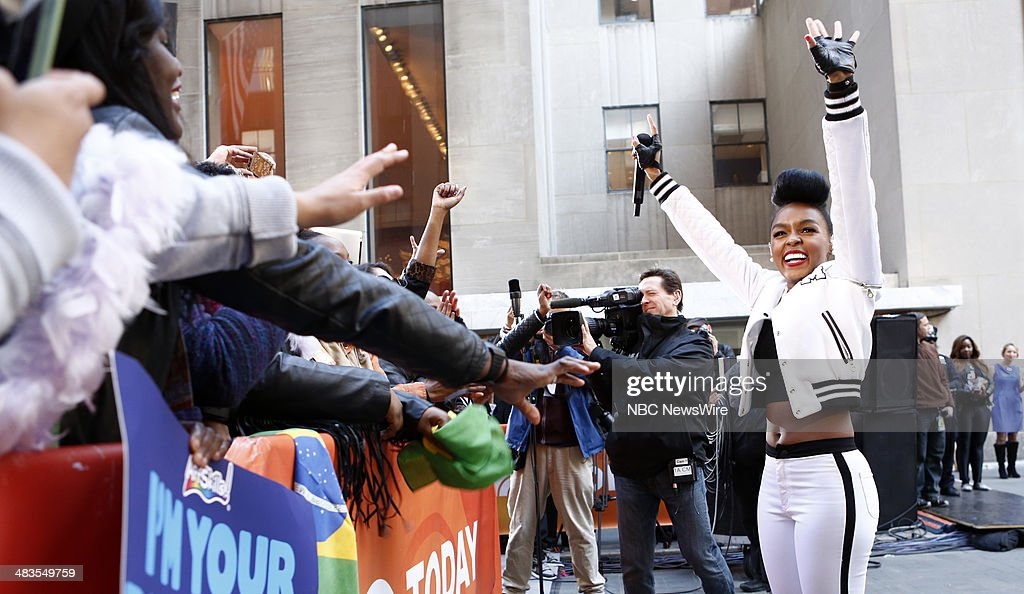 Janelle Monae appears on NBC News' 'Today' show --