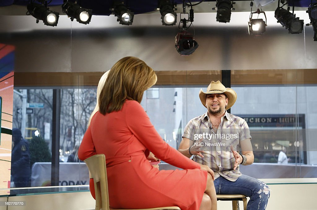Jason Aldean appears on NBC News' 'Today' show --
