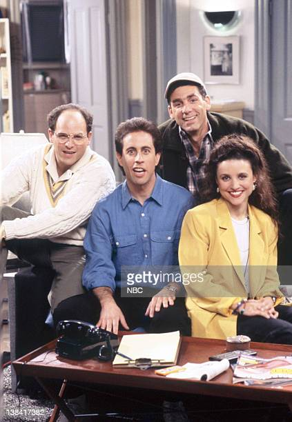 Jason Alexander as George Costanza Jerry Seinfeld as Jerry Seinfeld Michael Richards as Cosmo Kramer Julia LouisDreyfus as Elaine Benes