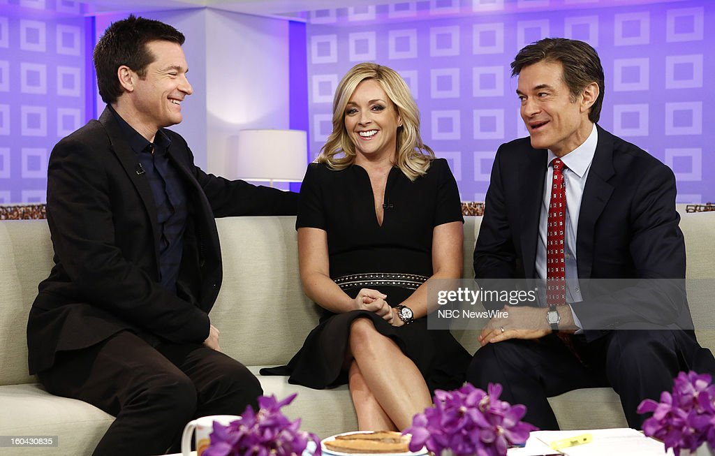 Jason Bateman, Jane Krakowski and Dr. Mehmet Oz appear on NBC News' 'Today' show --