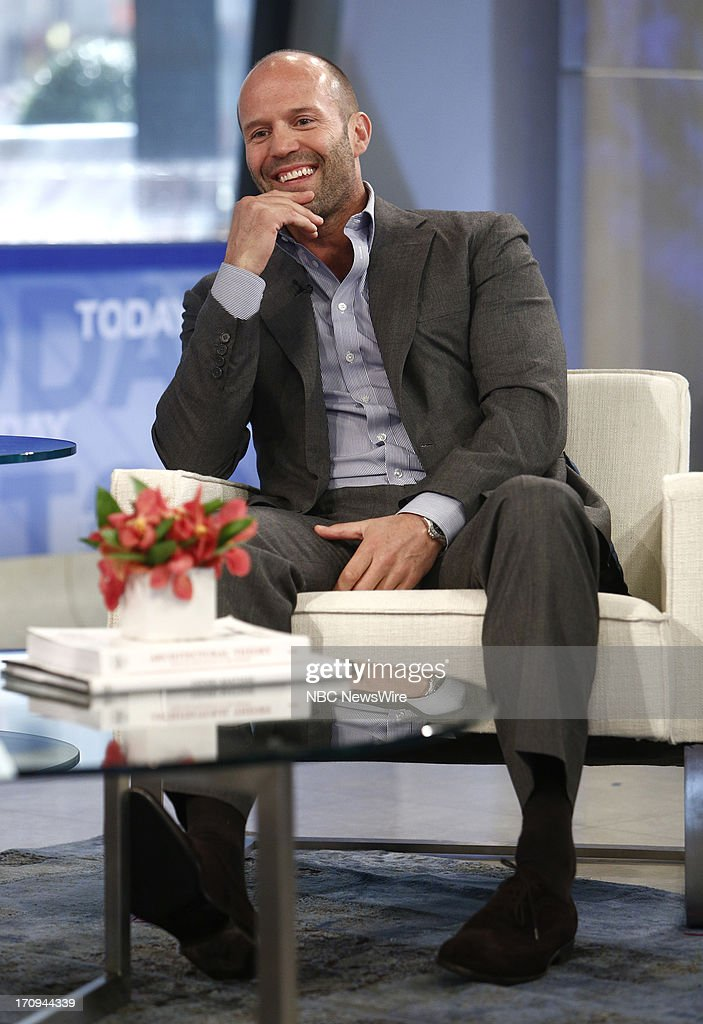 Jason Statham appears on NBC News' 'Today' show --