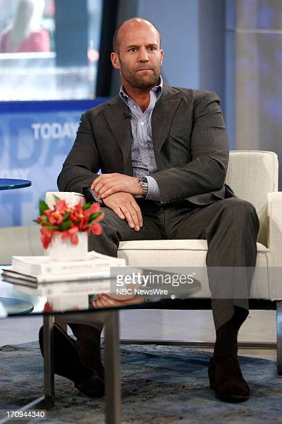 Jason Statham appears on NBC News' 'Today' show