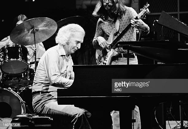 Jazz musician Dave Brubeck and 'Two Generations of Brubeck' band on July 21 1978 Photo by Paul Drinkwater/NBC/NBCU Photo Bank
