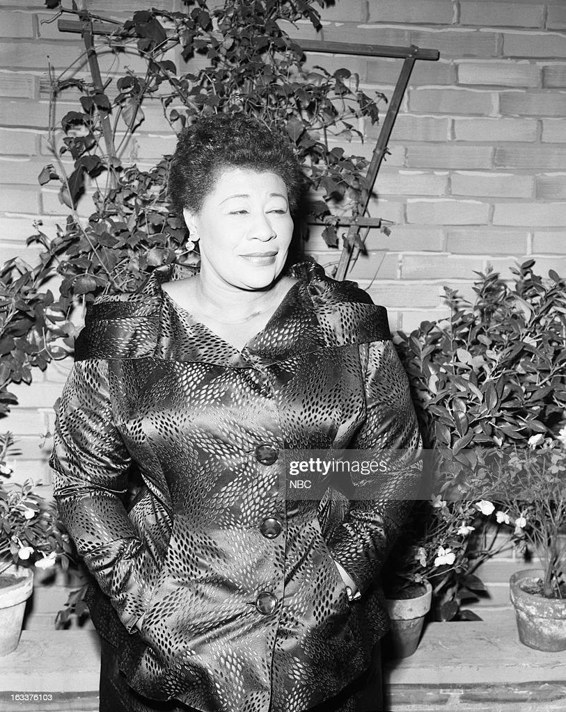 Jazz singer Ella Fitzgerald in 1956 --