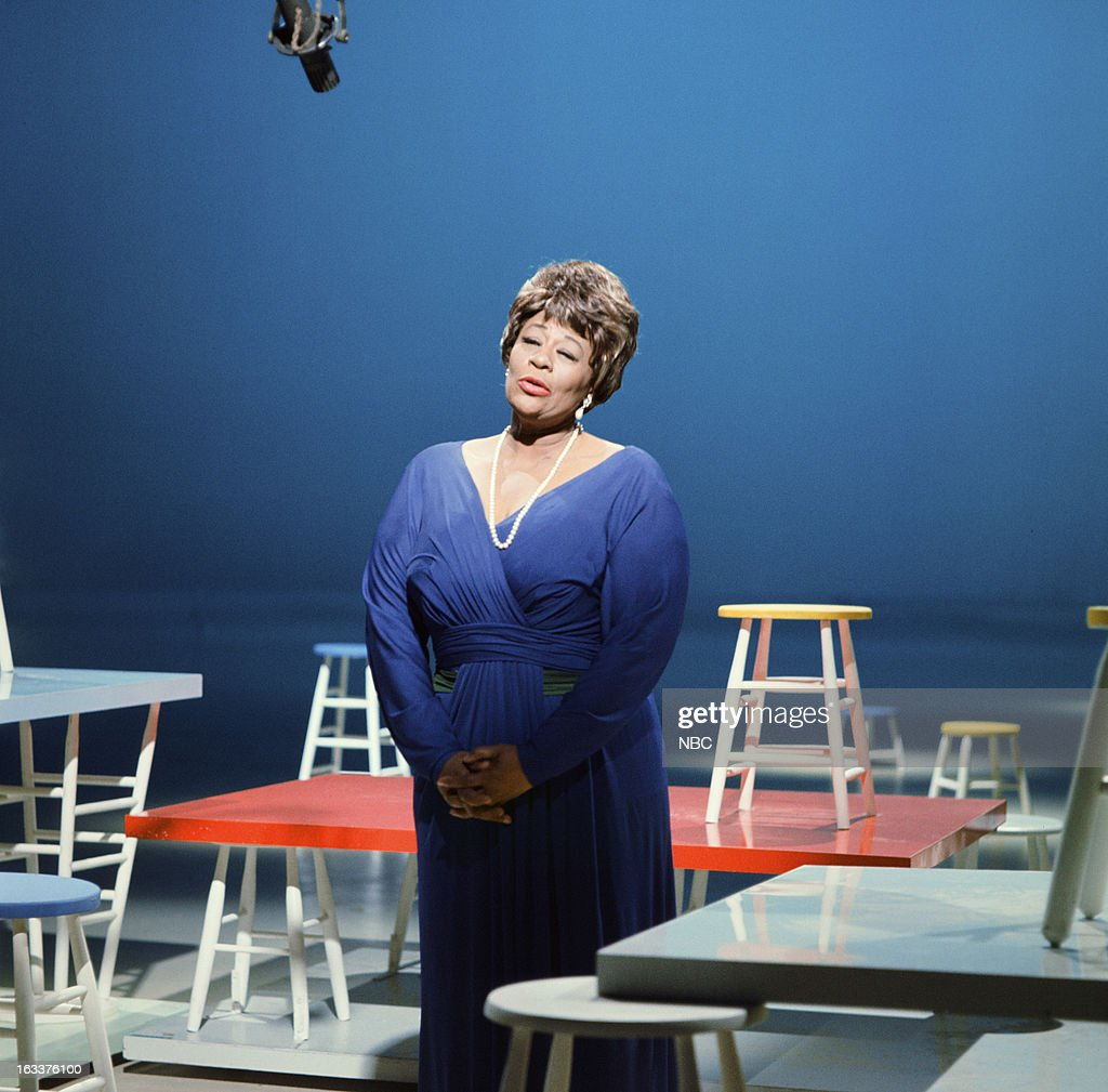 Jazz singer Ella Fitzgerald in the 1960s --