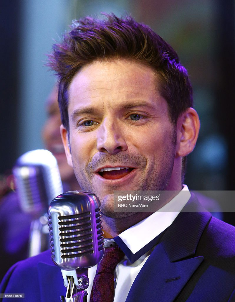 Jeff Timmons of 98 Degrees appears on NBC News' 'Today' show --