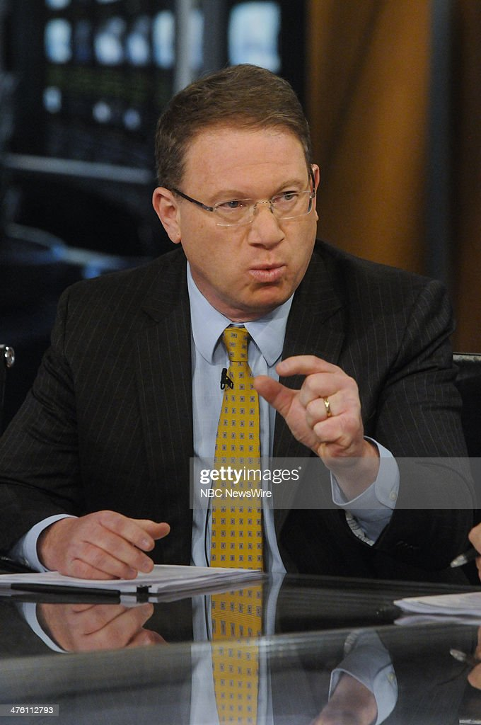 Jeffrey Goldberg, Correspondent, The Atlantic & Columnist, Bloomberg View, appears on 'Meet the Press' in Washington, D.C., Sunday, March 2, 2014.