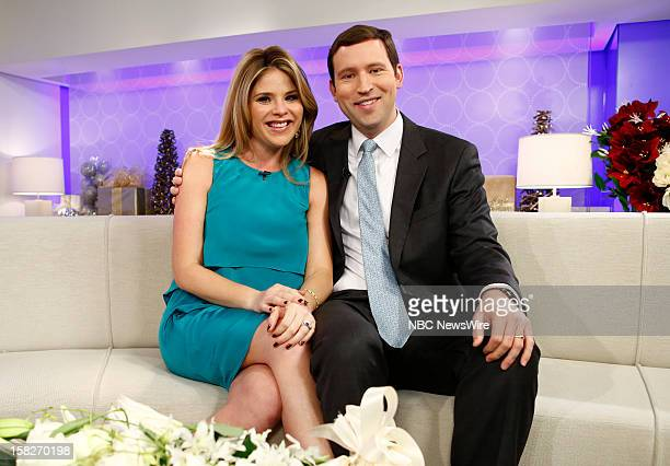 Jenna Bush Hager and Henry Hager appear on NBC News' 'Today' show
