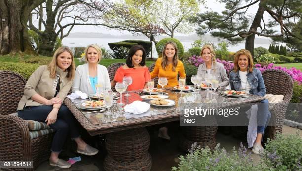 Jenna Bush Hager Dylan Dreyer Sheinelle Jones Savannah Guthire Kathie Lee Gifford and Hoda Kotb on Thursday April 27 2017