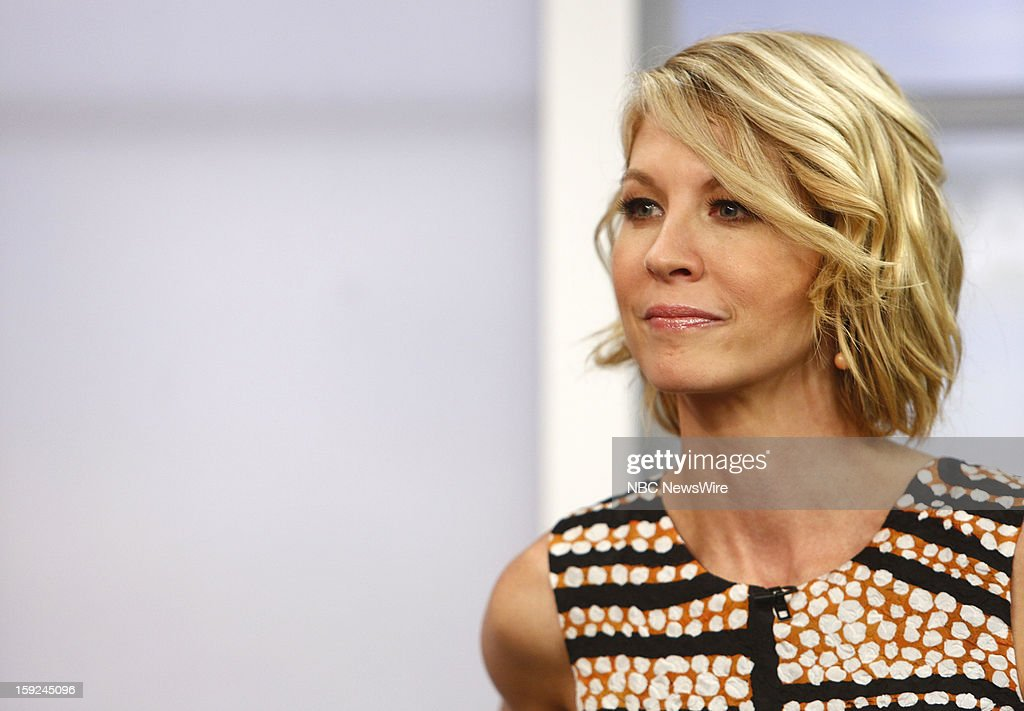 Jenna Elfman appears on NBC News' 'Today' show --