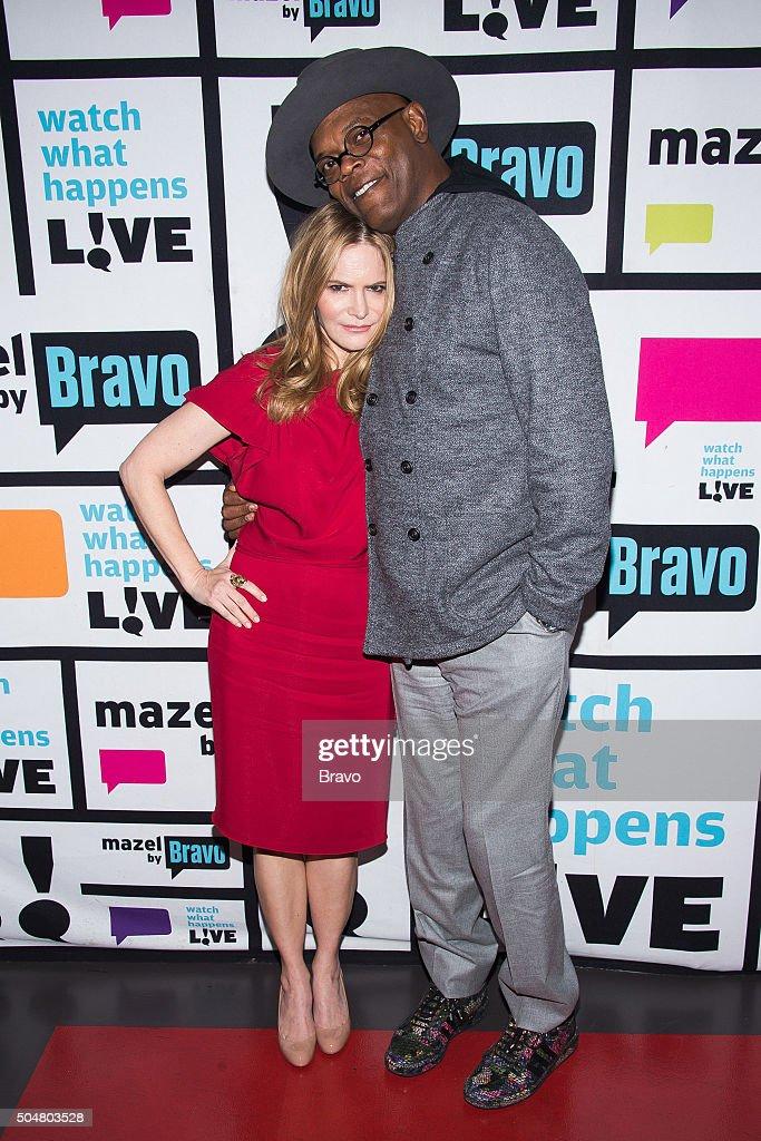 Jennifer Jason Leigh and Samuel L. Jackson --