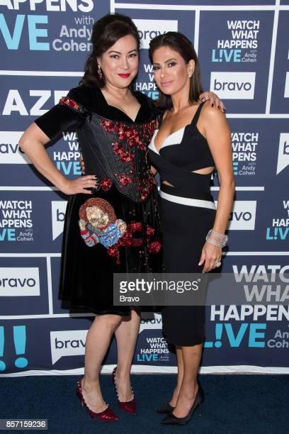 Jennifer Tilly and Peggy Sulahian
