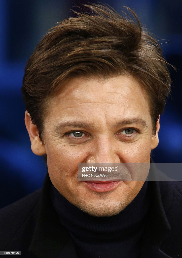 Jeremy Renner appears on NBC News' 'Today' show --