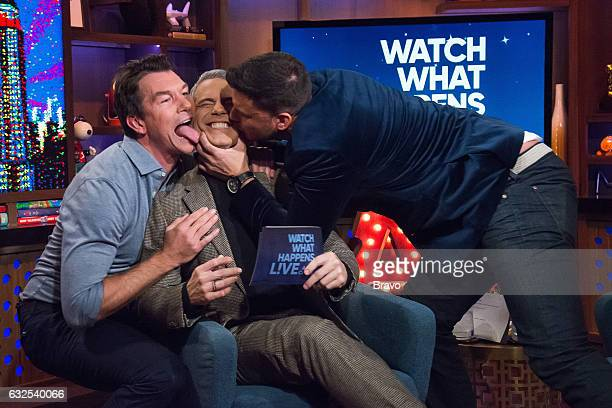 Jerry O'Connell Andy Cohen and Jax Taylor