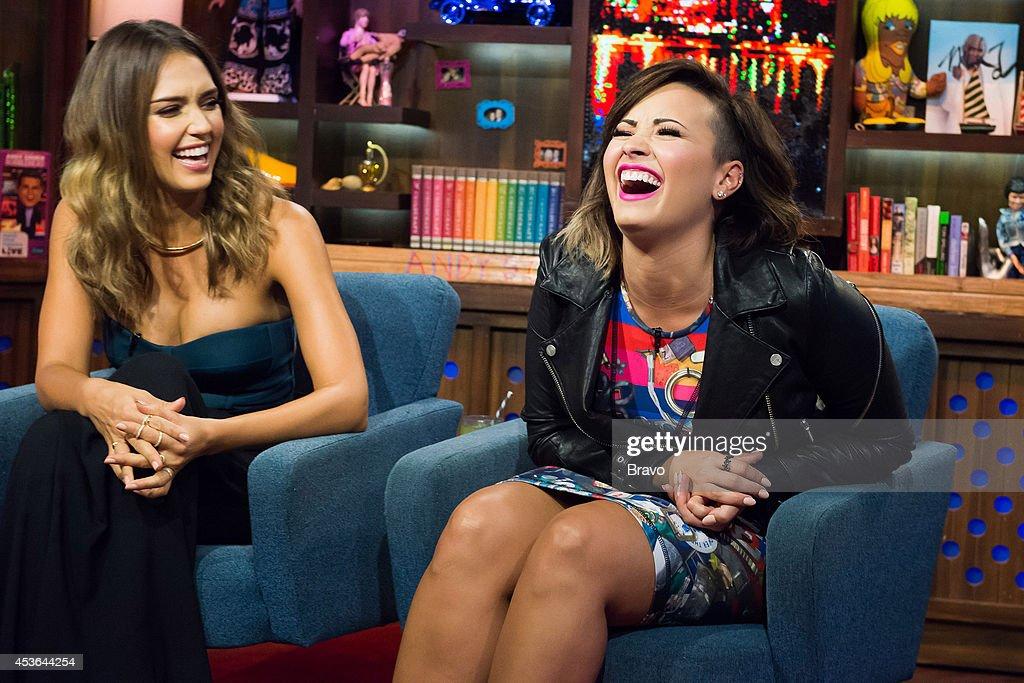 Jessica Alba and Demi Lovato --