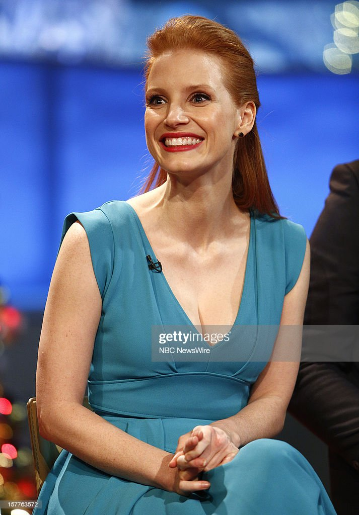 <a gi-track='captionPersonalityLinkClicked' href=/galleries/search?phrase=Jessica+Chastain&family=editorial&specificpeople=653192 ng-click='$event.stopPropagation()'>Jessica Chastain</a> appears on NBC News' 'Today' show --