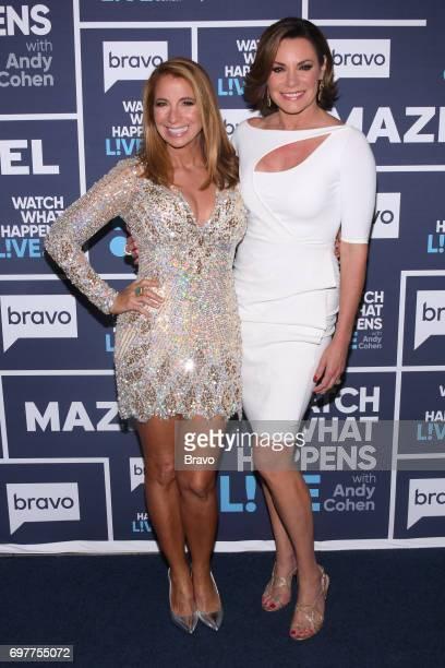 Jill Zarin and Luann D'Agostino
