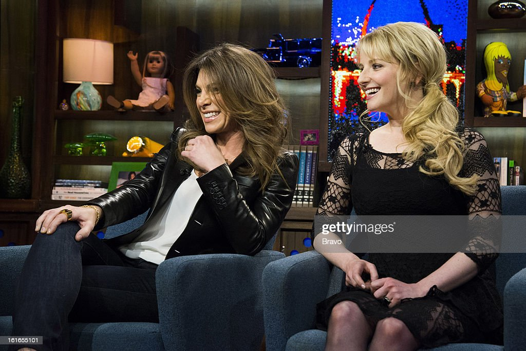 Jillian Michaels and Melissa Rauch -- Photo by: Charles Sykes/Bravo/NBCU Photo Bank via Getty Images