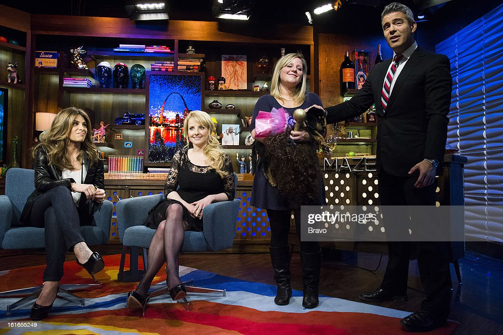 Jillian Michaels, Melissa Rauch and Andy Cohen -- Photo by: Charles Sykes/Bravo/NBCU Photo Bank via Getty Images