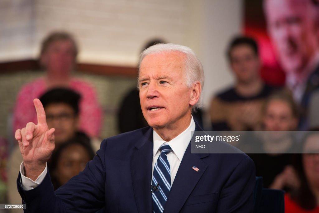 Joe Biden on Monday, November 13, 2017 --