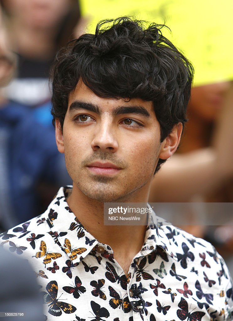 Joe Jonas appears on NBC News' 'Today' show --