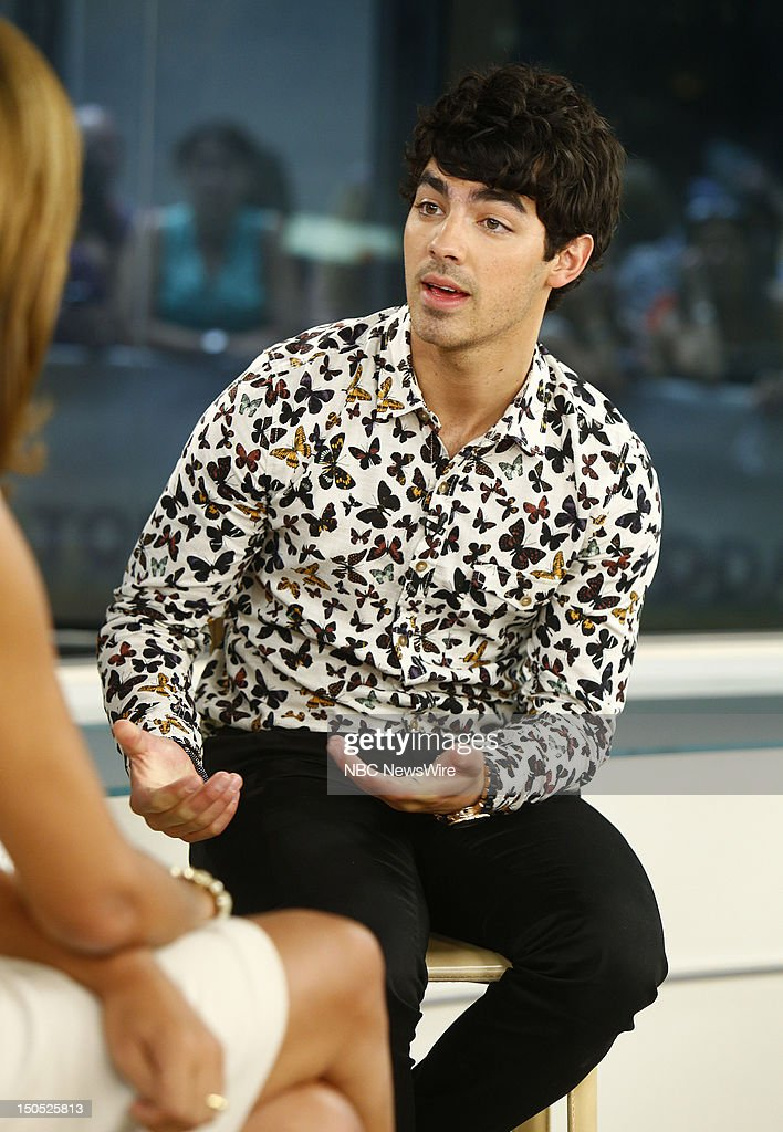 Joe Jonas appears on NBC News' 'Today' show --