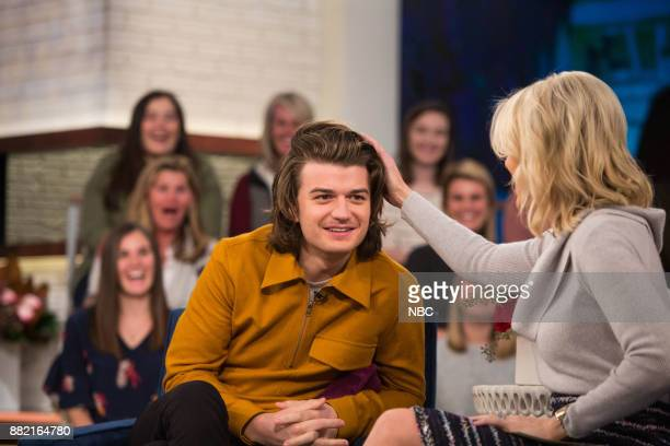 Joe Keery and Megyn Kelly on Wednesday November 29 2017