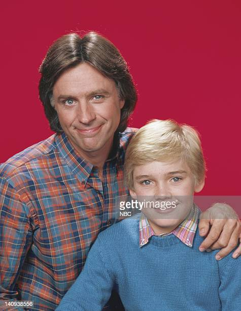 Joel Higgins as Edward W Stratton III Rick Schroder as Richard 'Ricky' Bluedhorn Stratton Photo by Herb Ball/NBCU Photo Bank