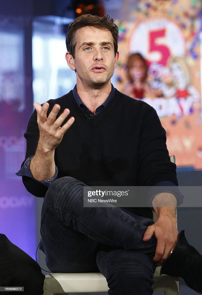 Joey McIntyre of New Kids on the Block appears on NBC News' 'Today' show --