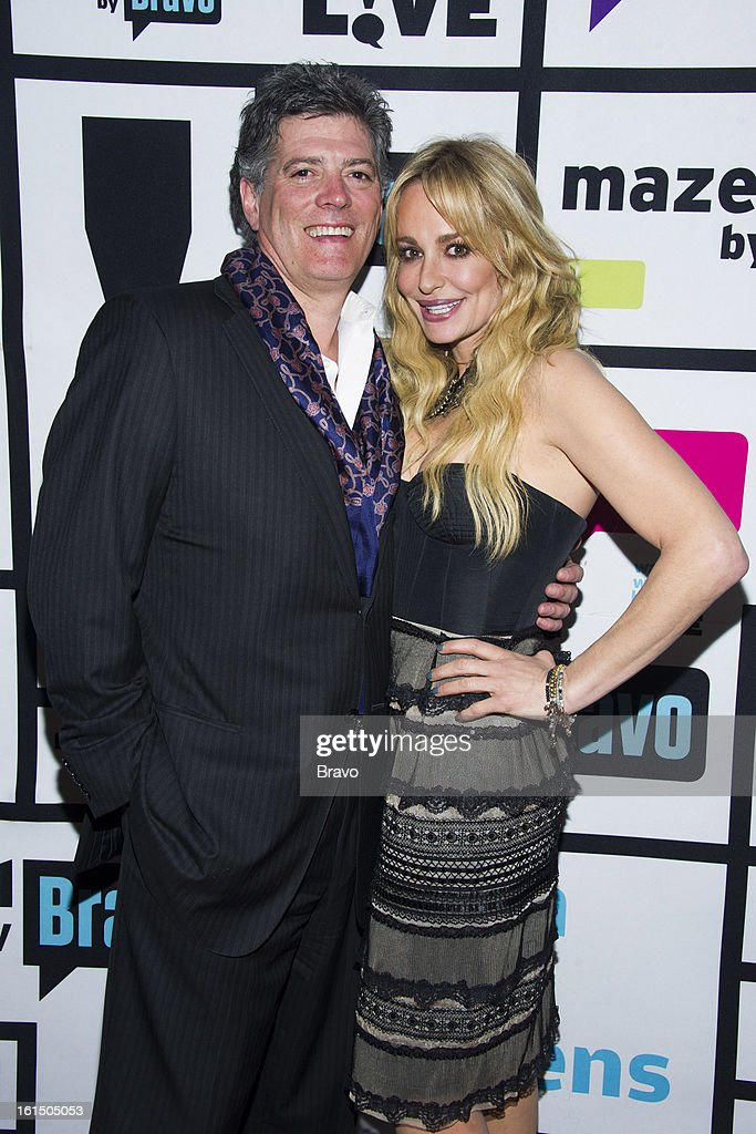 John Bluher and Taylor Armstrong -- Photo by: Charles Sykes/Bravo/NBCU Photo Bank via Getty Images